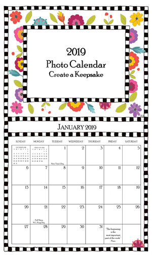 Buy Calendar 2019 2019 Photo Calendar Buy 4 and get 5th one free (without gift boxes)